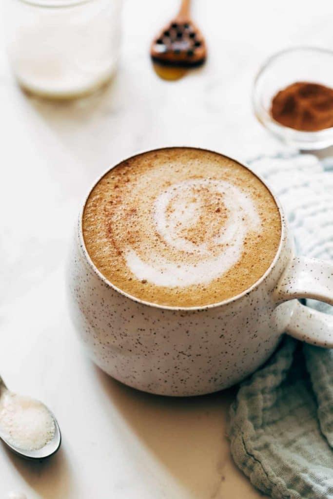 Oat Milk Honey Latte