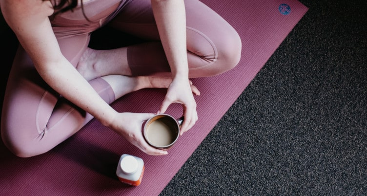 Drink coffee before your workout