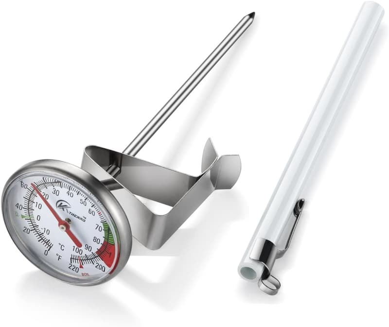 6. KT THERMO Instand Read 2-Inch Dial Thermometer