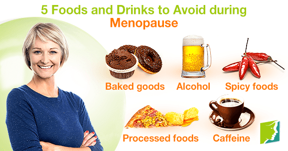 So, on the contrary, what are some foods to avoid during this period