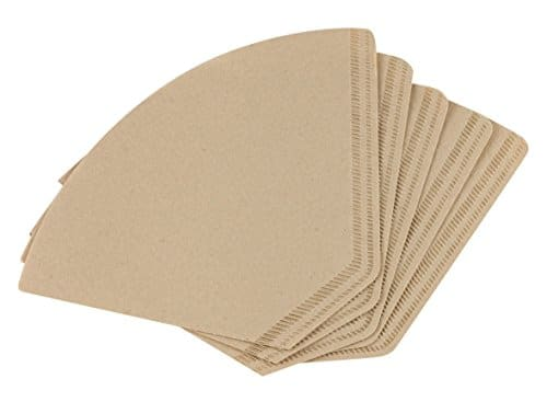 Unbleached paper filters