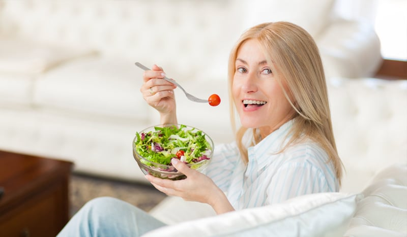 Yogurt and Green Vegetables are Good for Menopause