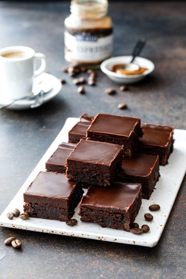 Coffee Chocolate Brownies