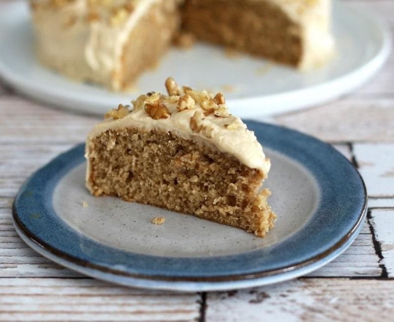 Coffee-Walnut Snack Cake