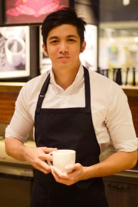 Face with a Good-Looking Barista, Become a Silly