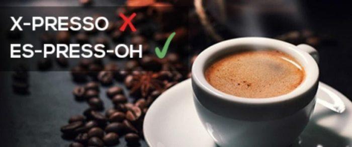 Mispronouncing Coffee's Name, Awkward is Real