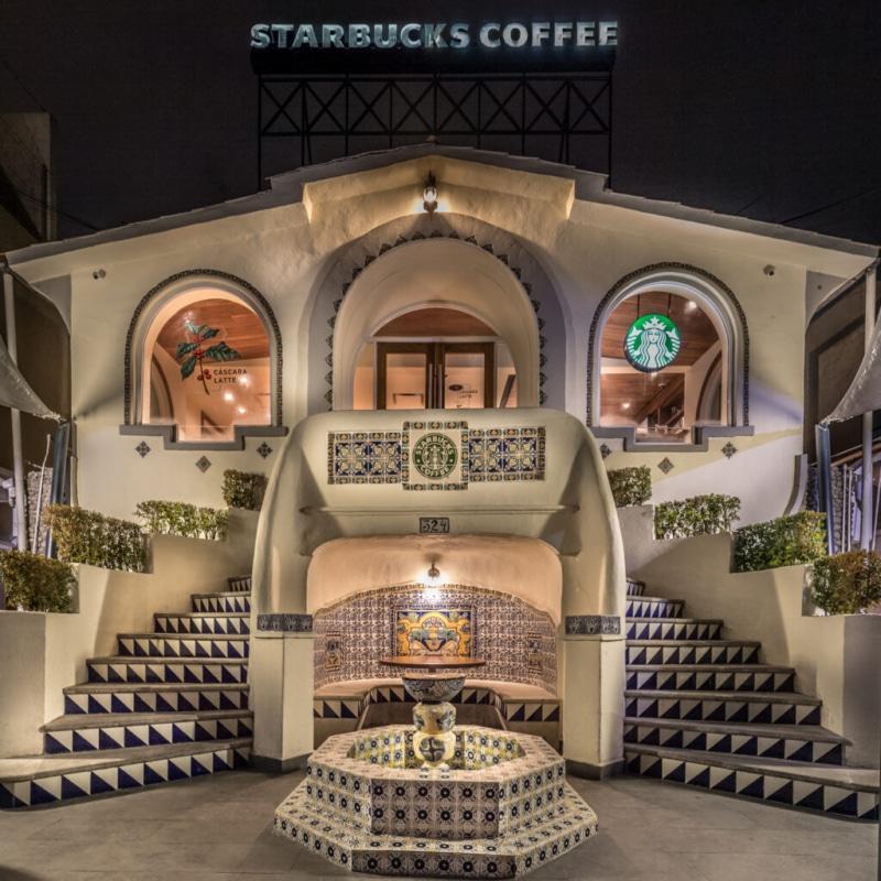 Prado Norte Starbucks, Mexico