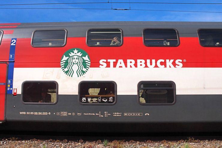 Starbucks Train, Switzerland