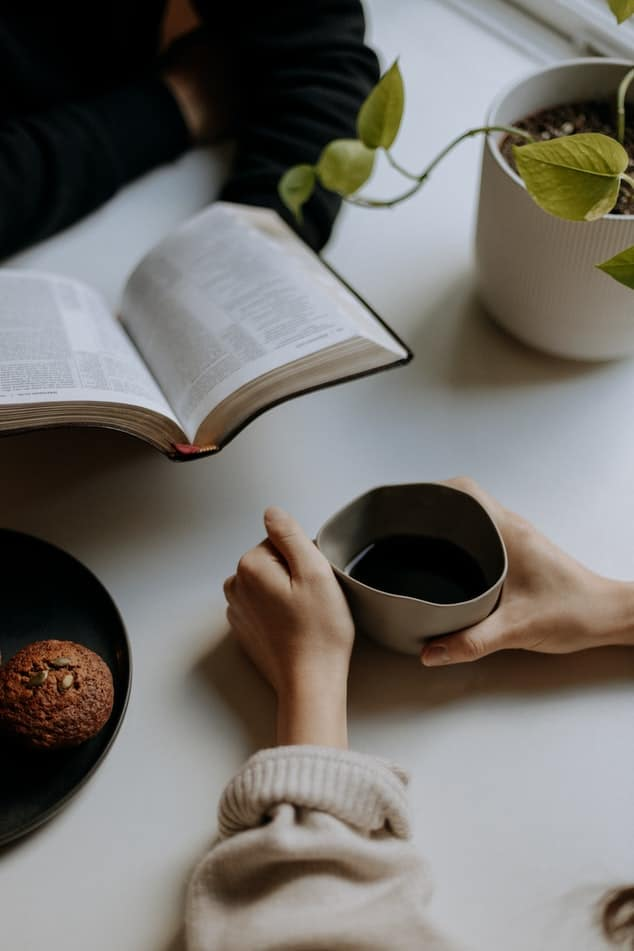 With coffee  lovers, it's a study date and a date all rolled into one