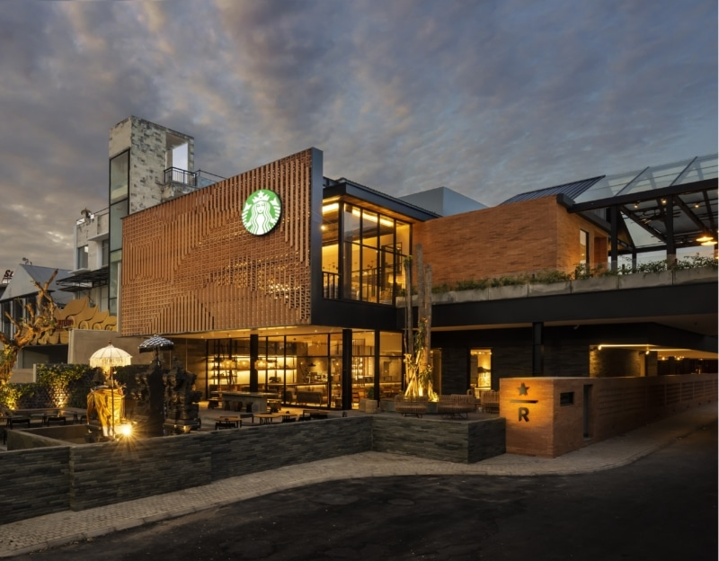 Starbucks Dewata Coffee Sanctuary-Bali, Indonesia