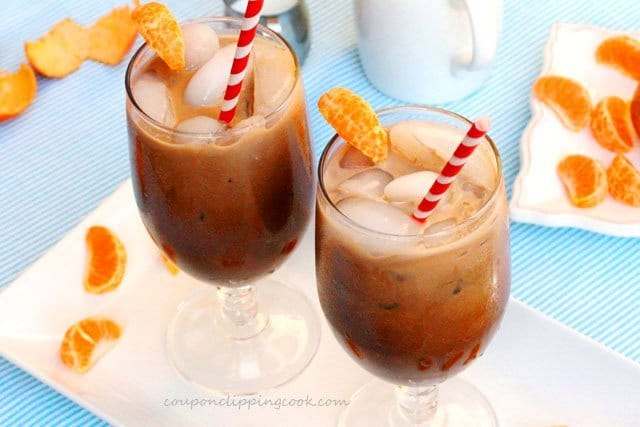 11. Iced Mandarin Orange Coffee