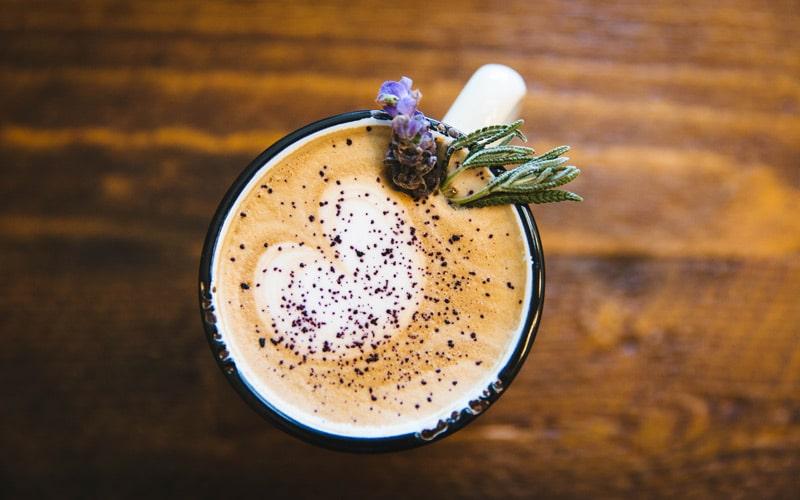1. The Lavender Latte