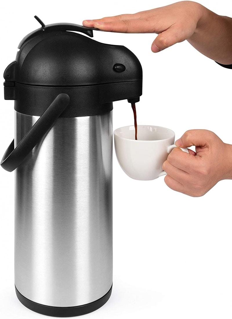 1. Cresimo Airpot Thermal Coffee Urn To Keep Coffee Hot