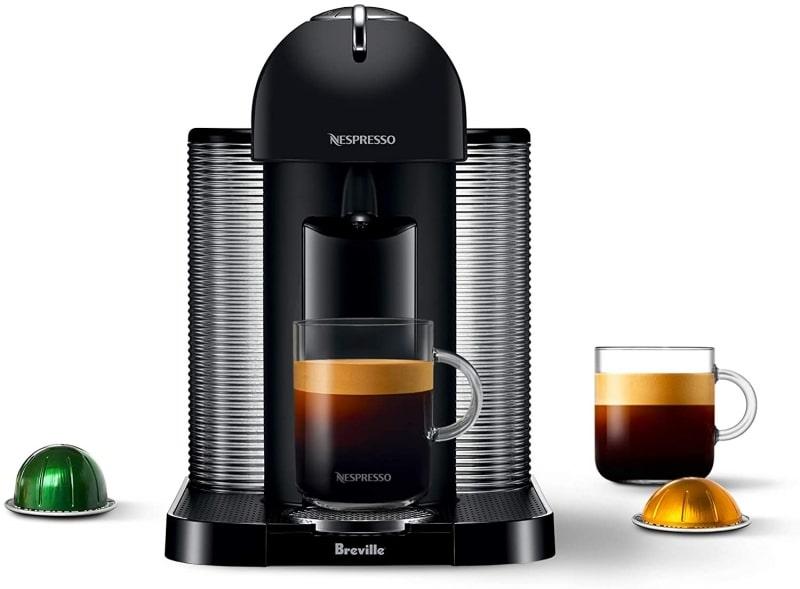 1. Breville BNV220BKM1BUC1 Vertuo Coffee and Espresso Machine