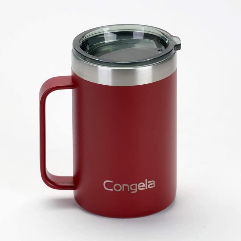 10. Congela Stainless Steel Insulated Coffee Mug