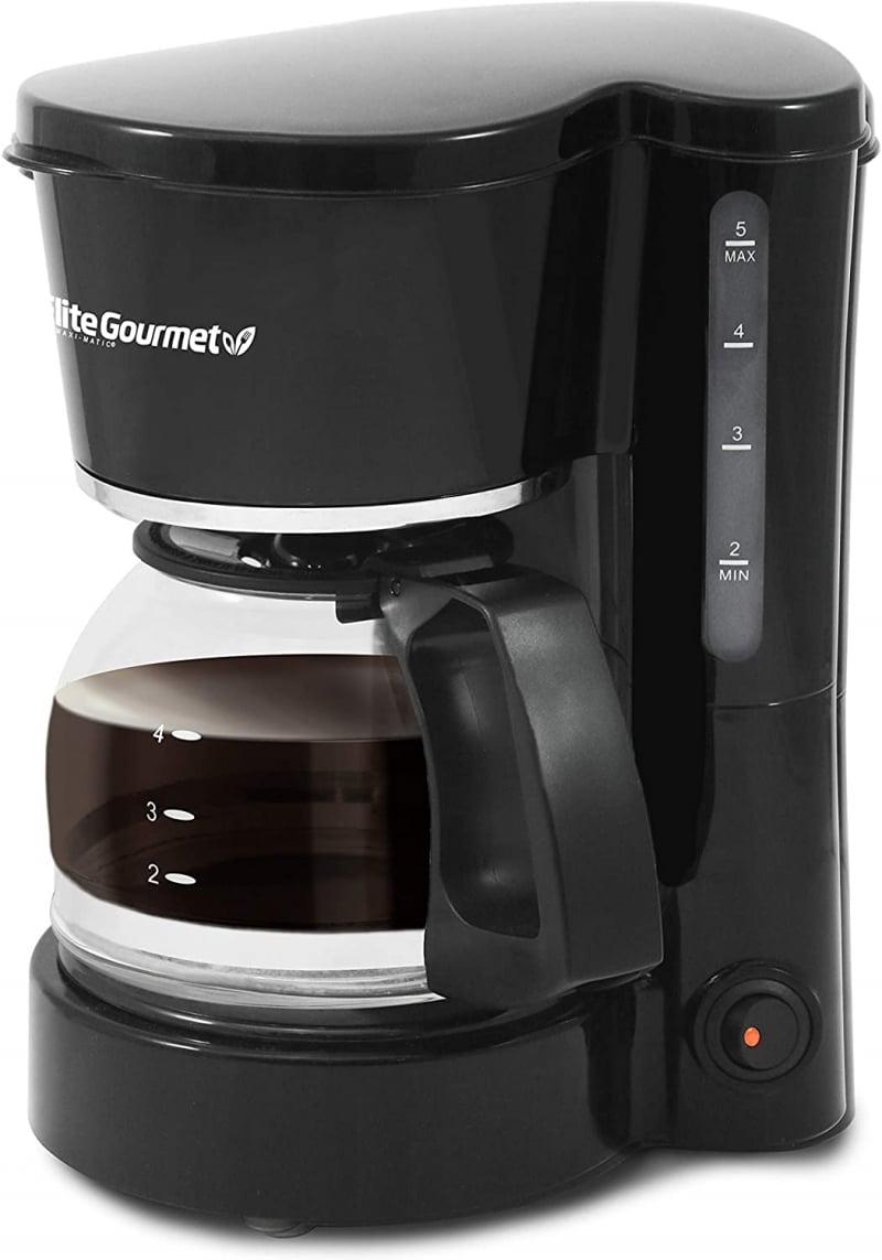 1. Elite Maxi-Matic Small 4-Cup Coffee Maker