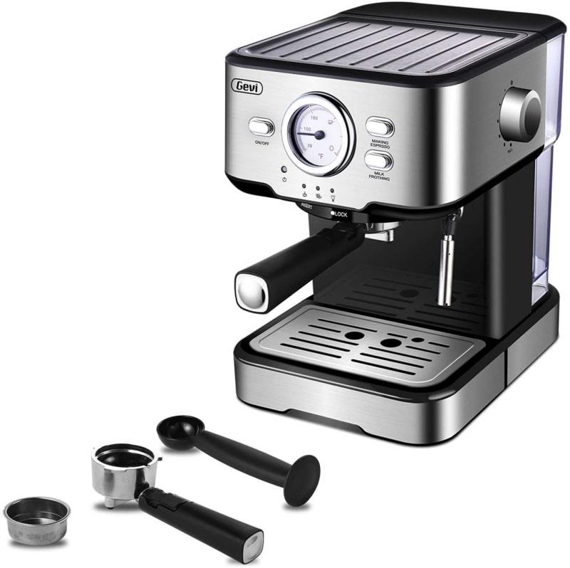 1. Gevi Espresso 15 Bar Coffee Machine