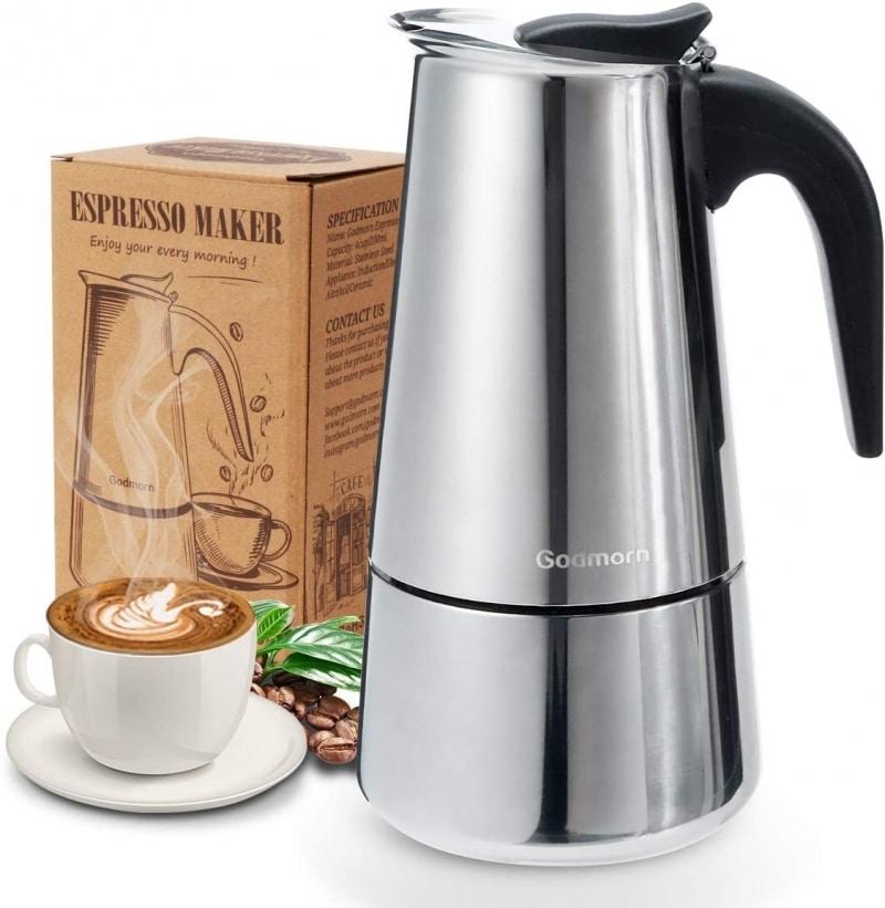 1. Godmorn Stovetop Espresso Maker