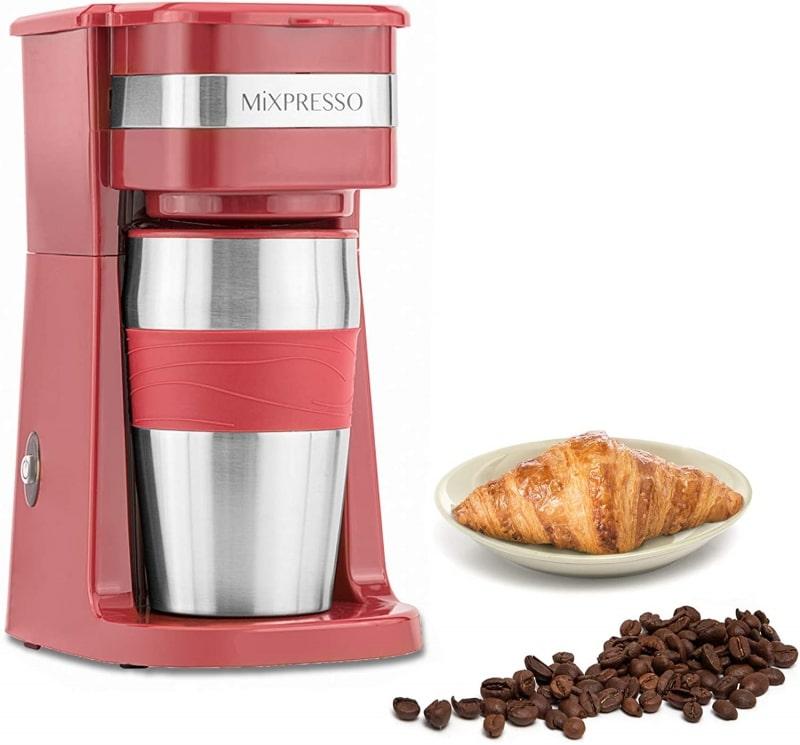 10. Mixpresso Single Cup Drip Coffee Maker
