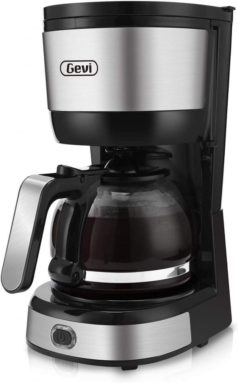 10. Gevi 4-Cup Coffee Maker