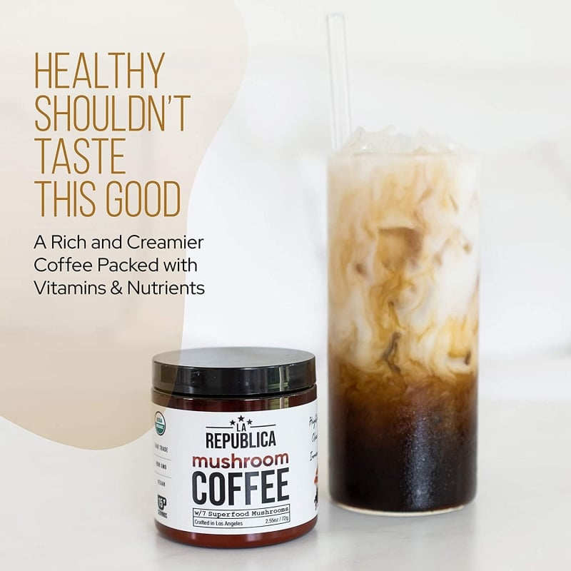 10. La Republica Organic Mushroom Coffee