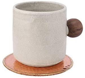 13. GoCraft Hammered Copper Coasters