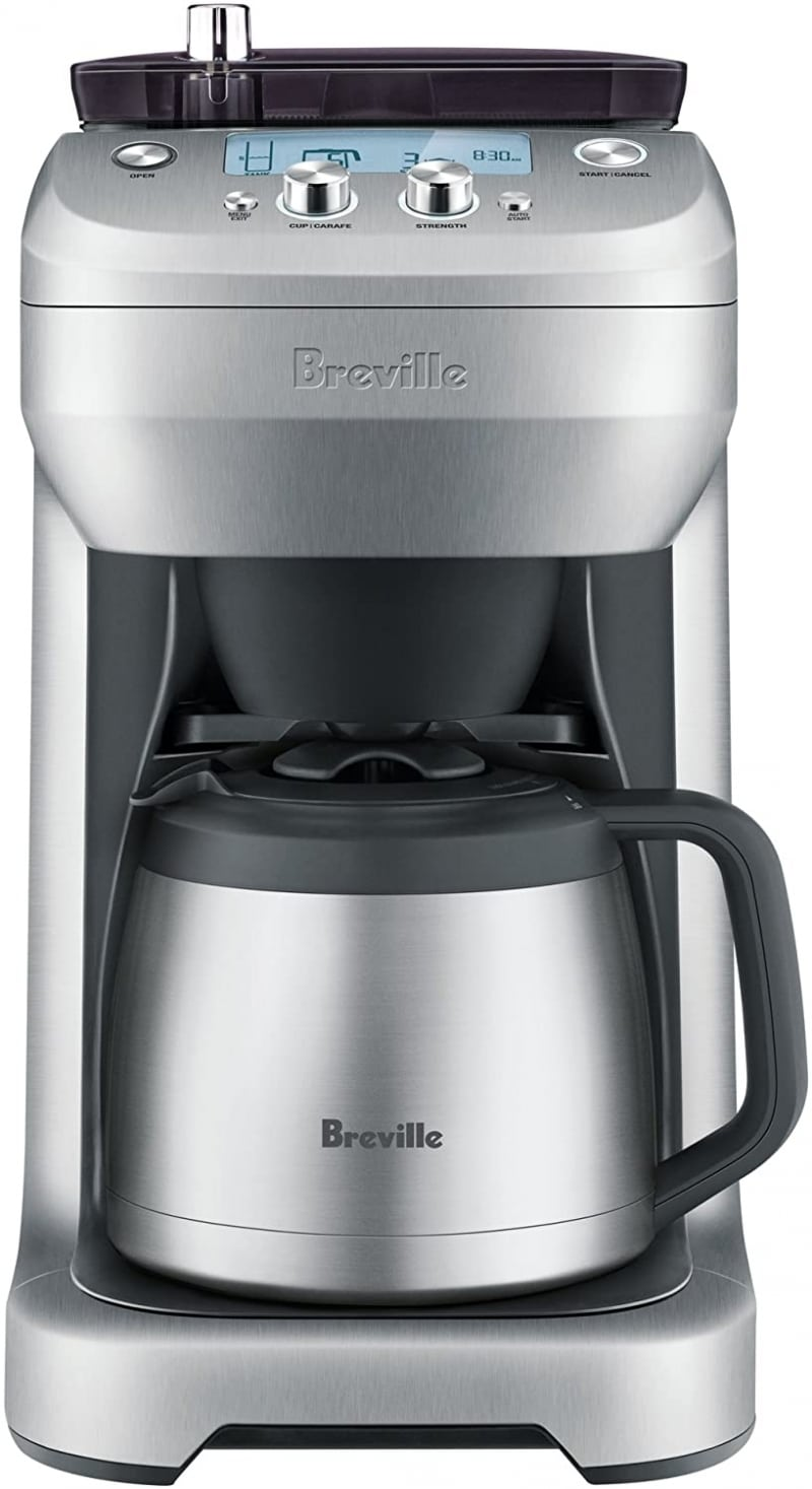 2. Breville Grind Control Coffee Maker