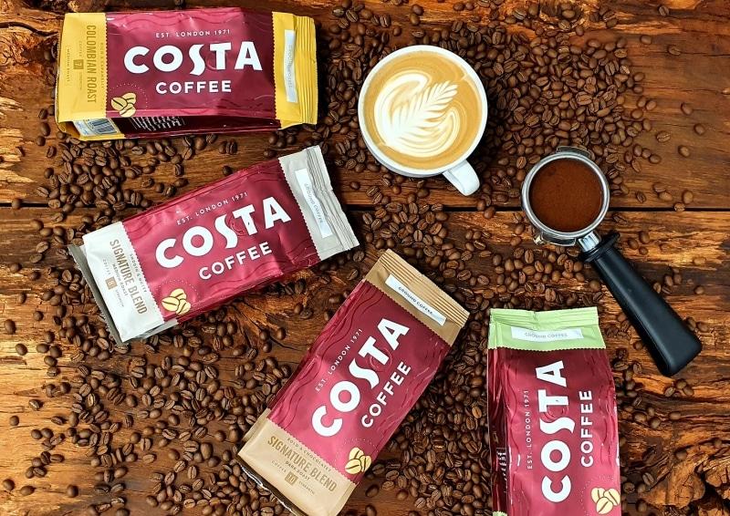 2. Costa Coffee