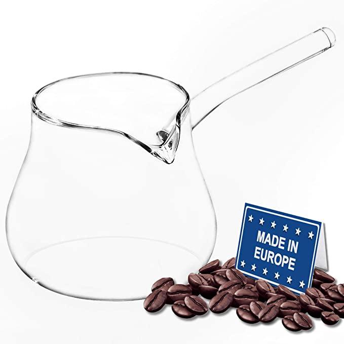 3.  Volarium Glass Turkish Coffee Pot