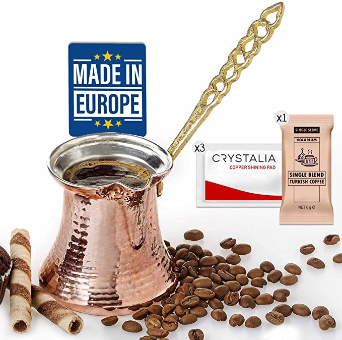 4. Volarium Turkish Coffee Pot