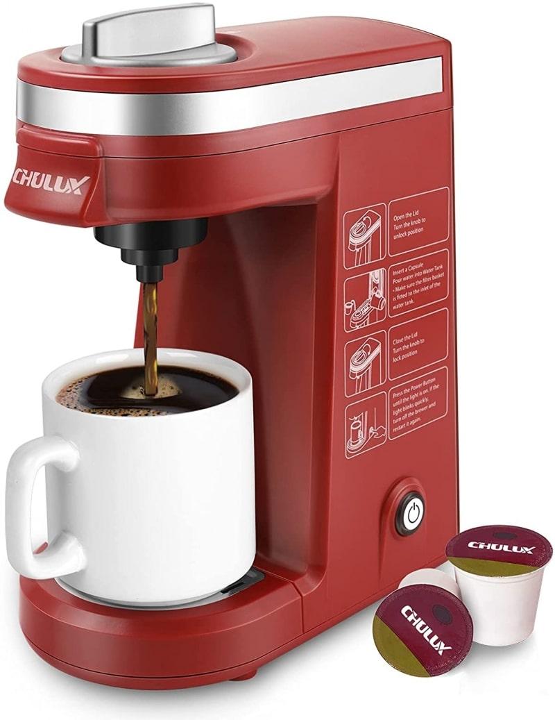 3. Chulux Single Cup Coffee Maker