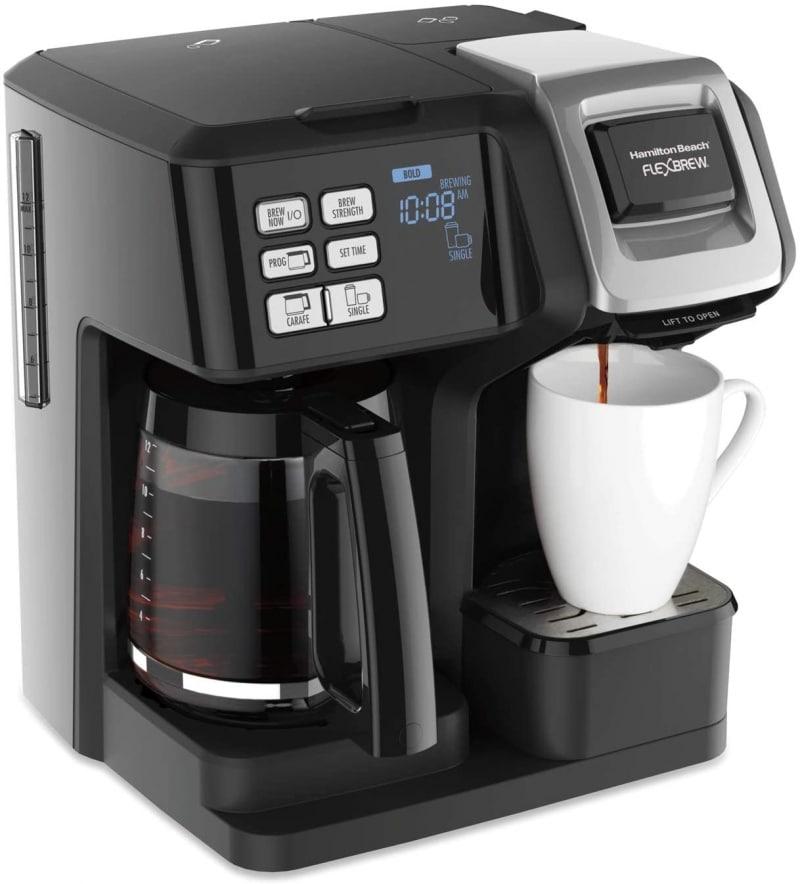 3. Hamilton Beach 49976 FlexBrew Trio 2-Way Coffee Maker
