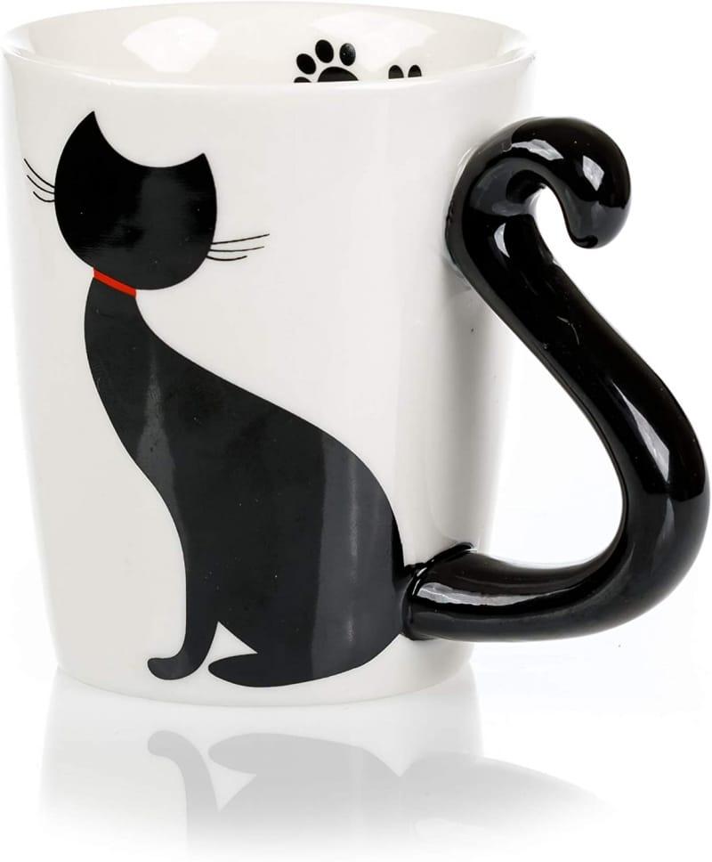 13. InFLOATables Cat Mug and Coaster Set