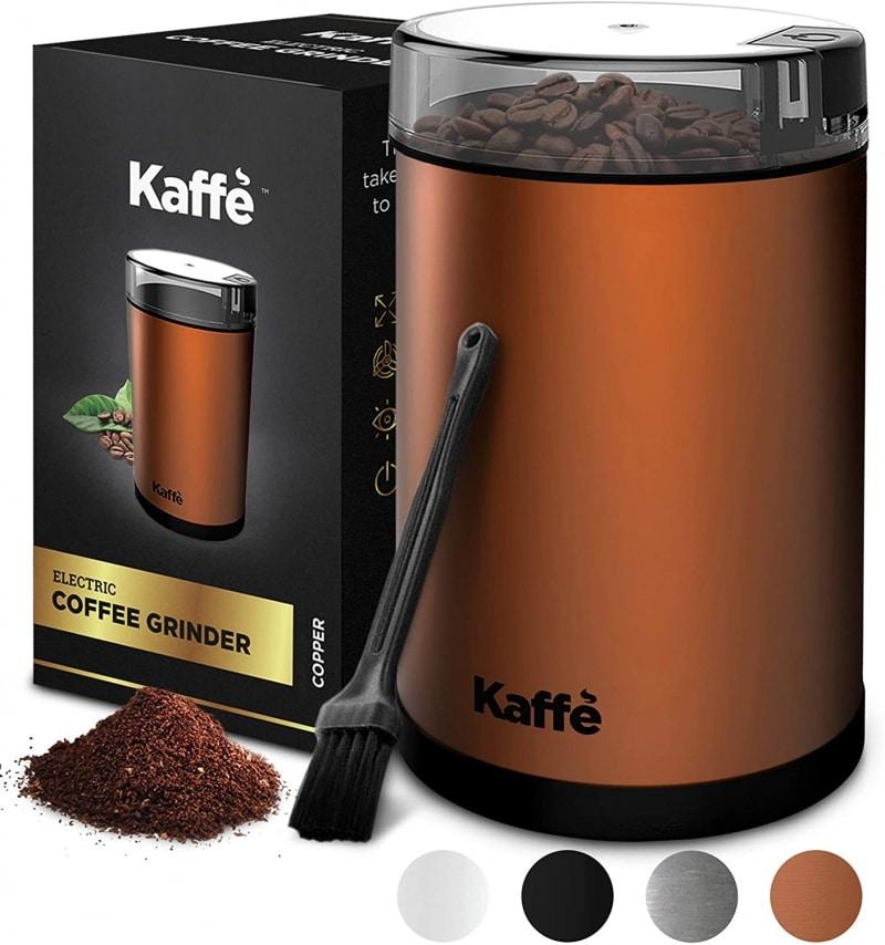 3. Kaffe Electric Coffee Grinder