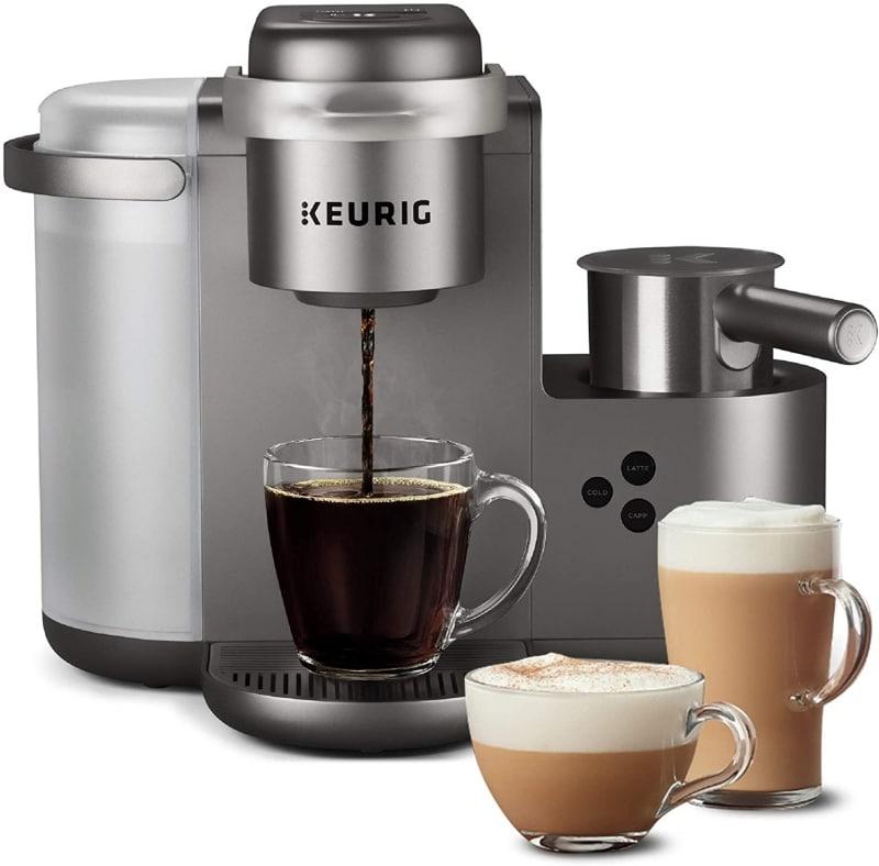 3. Keurig K-Cafe Special Edition Single-Serve K-Cup Pod Coffee