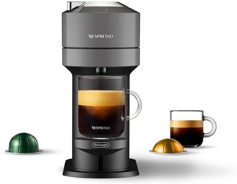 3. Nespresso Vertuo Next Coffee and Espresso Machine by DeLonghi