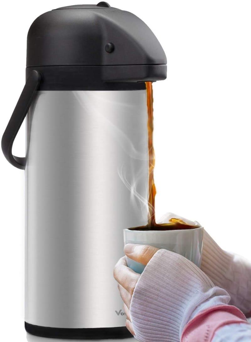 4. Vondior Airpot Coffee Urn with Pump