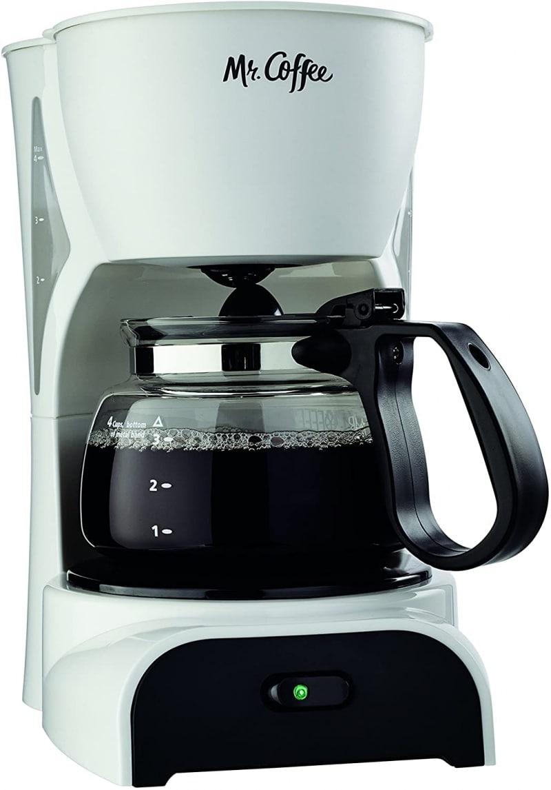4. Mr. Coffee 4-Cup Coffee Maker