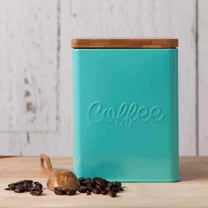 4. Now Designs Square Coffee Tin
