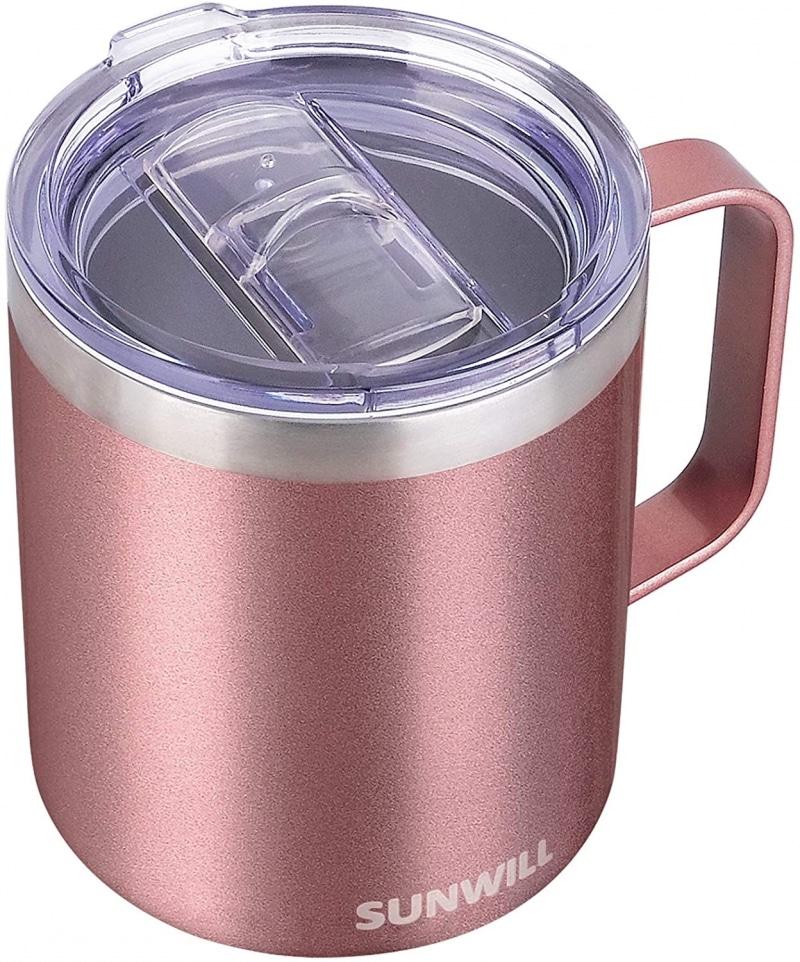 7. SUNWILL Coffee Mug with Handle