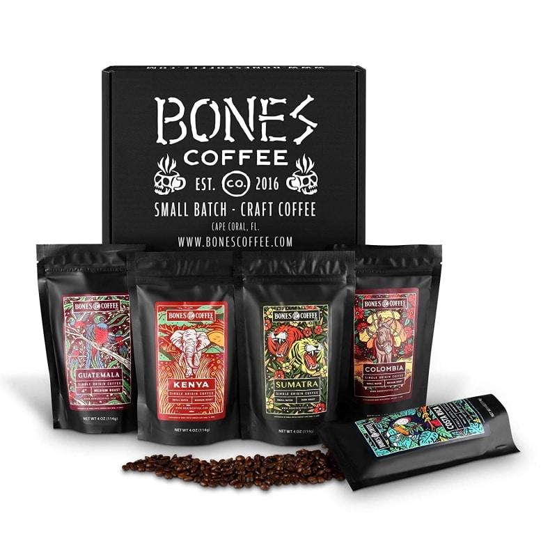 5. Bones Coffee World Tour Sample Pack