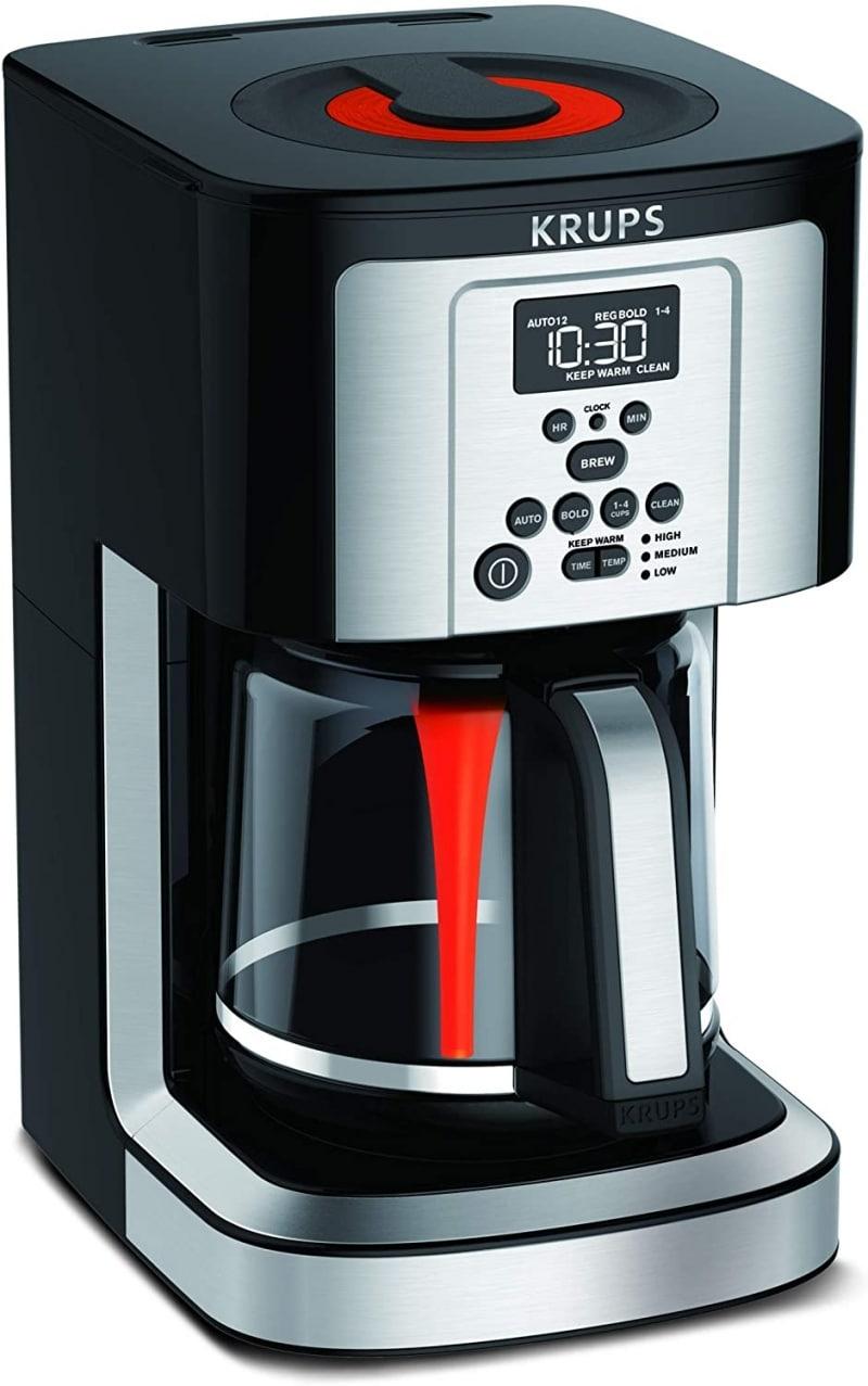 3. KRUPS EC324050 Savoy Programmable Krup Coffee Maker