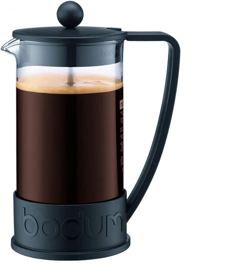 6. Bodum Brazil French Press Coffee and Tea Maker