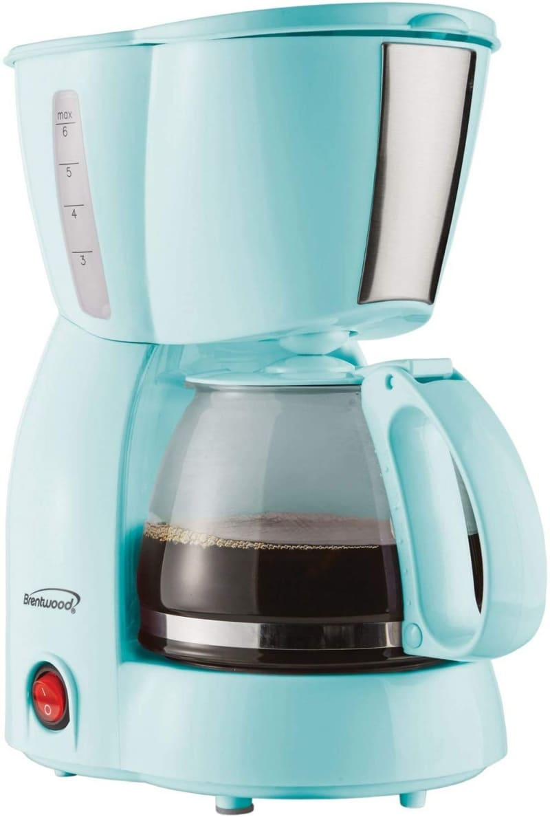 6. Brentwood TS-213BL 4 Cup Coffee Maker