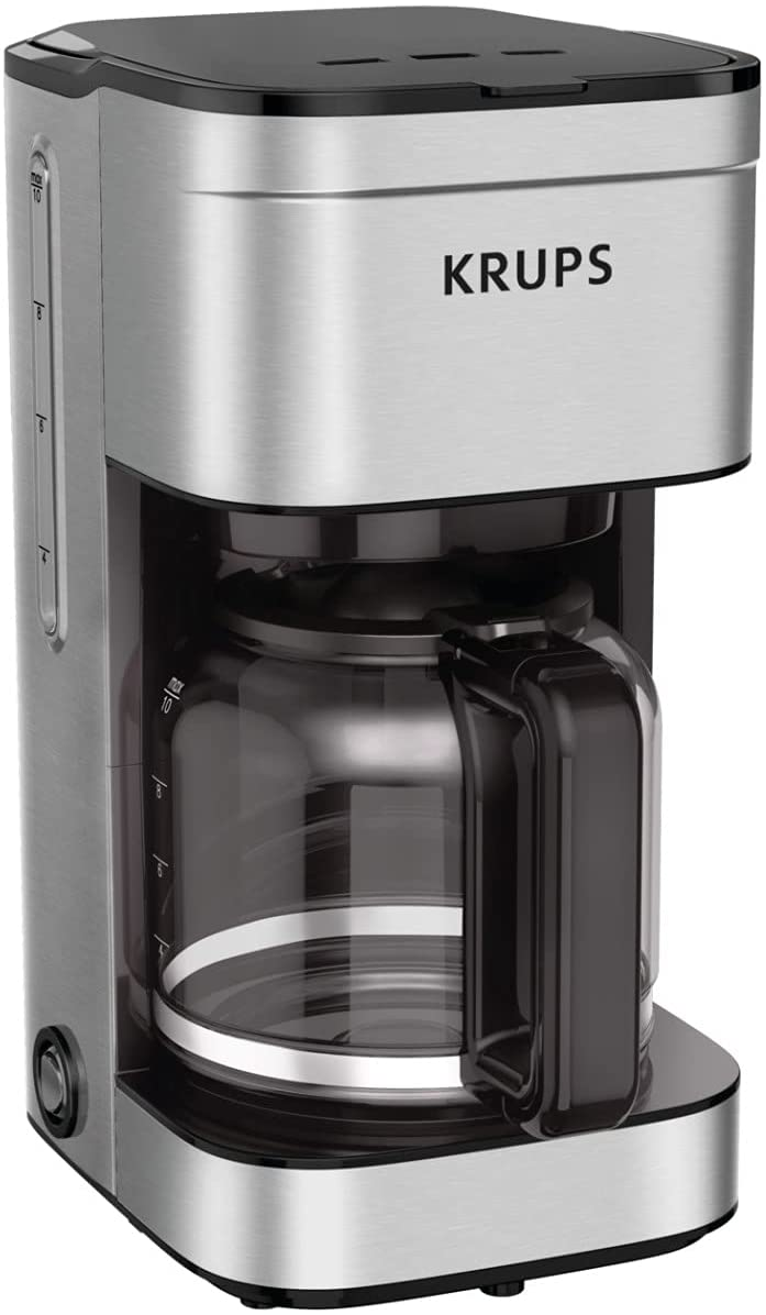 3. KRUPS KM203D50 Drip Filter Coffee Maker