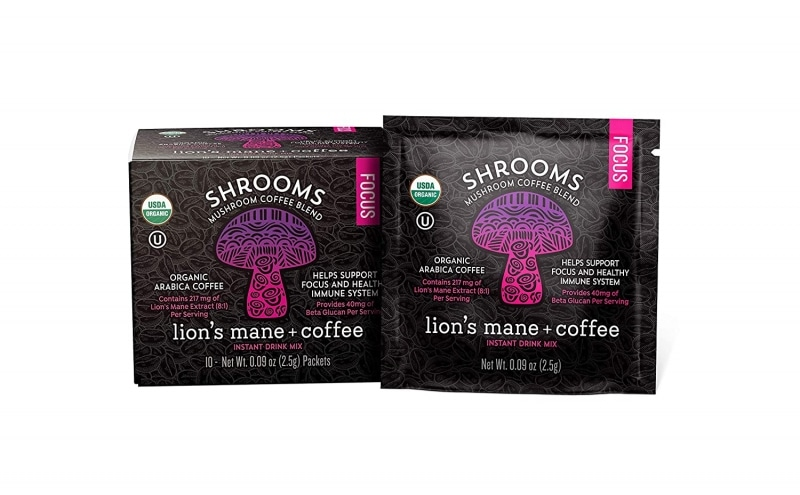 6. South Mill Shrooms FOCUS Mushroom Coffee