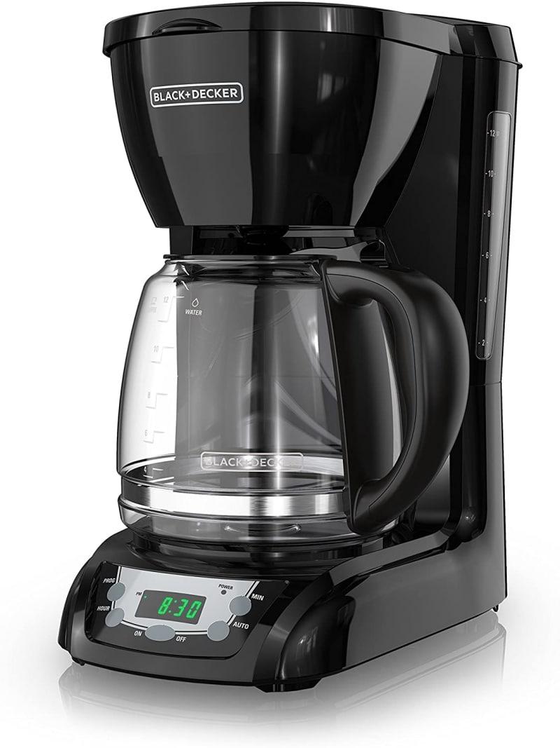 7. Black Decker Drip Coffee maker DLX1050B