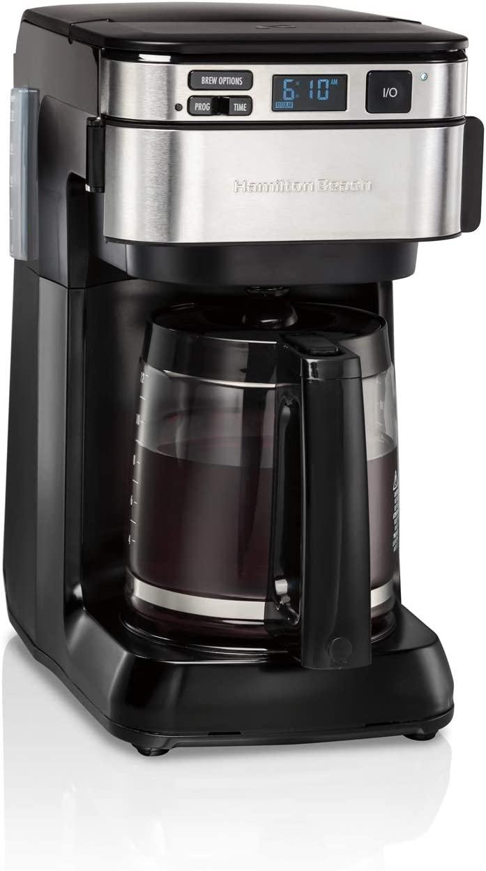 7. Hamilton Beach FrontFill 12 Cup Programmable Coffee Maker