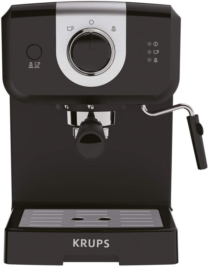 4. KRUPS XP3208 15 Cup of Coffee Pump Espresso and Cappuccino Coffee Maker