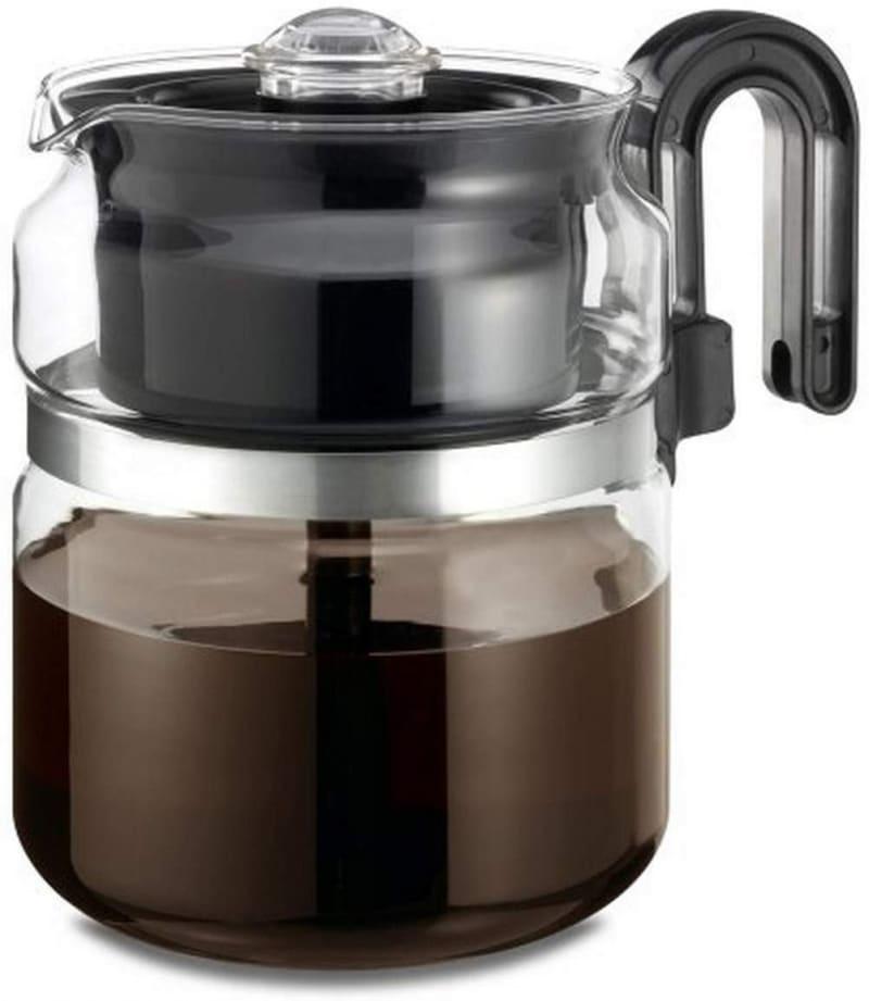 7. Medelco CAFÉ BREW COLLECTION Percolator Coffee Pot